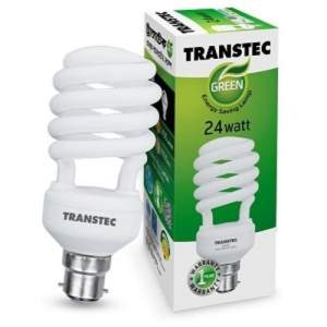 Transtec Green CFL Energy Saving Light-24 watt