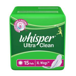 Whisper Ultra Clean XL Wings - 15 pads